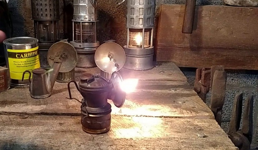 Carbide lamps, or acetylene gas lamps used to illuminate buildings, as lighthouse beacons, and as headlights on motor-cars and bicycles post thumbnail image